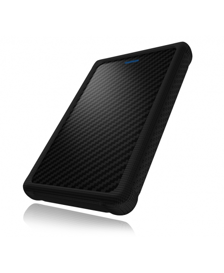 """Raidsonic ICY BOX External enclosure for 2.5"""" SATA HDD/SSD with USB 3.0 interface and silicone protection sleeve 2.5"""","""