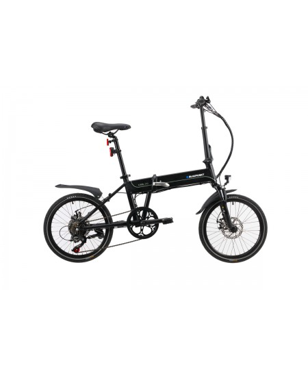 "Blaupunkt Carl 290, E-Bike, 250 W, 20 "", 25 km/h, Jet-Black"