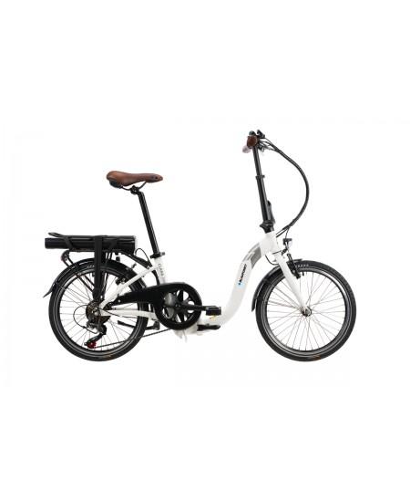 """Blaupunkt Clara 390, E-Bike, 250 W, 20 """", 25 km/h, Arctic-White"""