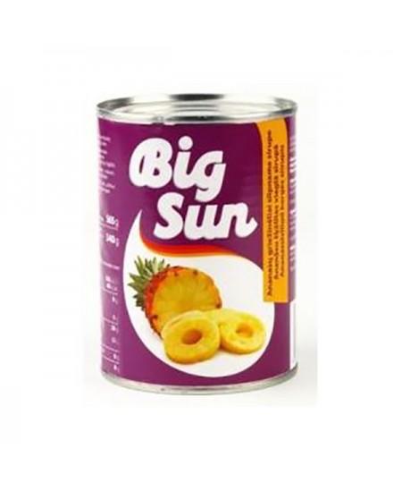Ananasų griežinėliai BIG SUN, 565 g / 340 g