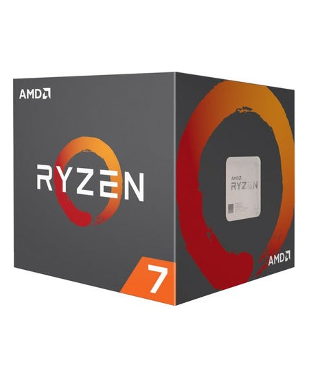 AMD Ryzen 7 2700X, 3.7 GHz, AM4, Processor threads 16, Packing Retail, Cooler included, Processor cores 8, Component for PC