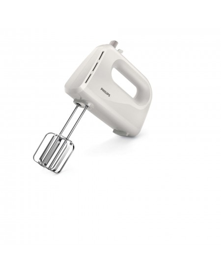 Philips Daily Collection Mixer HR3700/00 Corded, 200 W, Number of speeds 3, Shaft material Stainless steel, White
