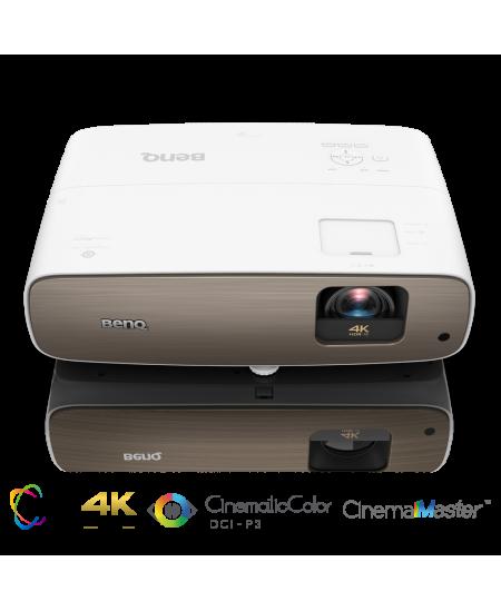 Benq W2700  4K UHD (3840 x 2160), 2000 ANSI lumens, 30000: 1, White