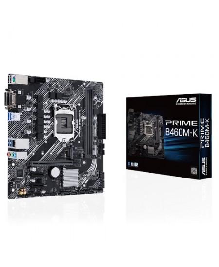 Asus PRIME B460M-K Memory slots 2, Processor family Intel, Micro ATX, DDR4, Processor socket LGA1200, Chipset Intel B