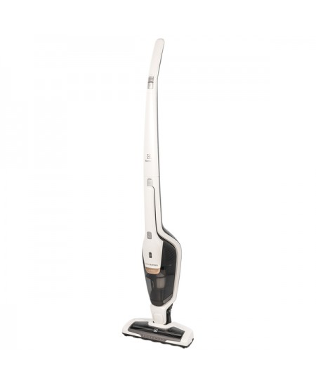 Electrolux Ergorapido 2 in 1 vacuum cleaner EER7ALLRGY Battery warranty 24 month(s), Handstick 2in1, White Metalic, 0.5 L, 79 dB