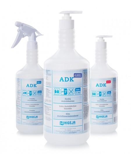 Gelinis rankų dezinfekantas ADK GEL, 500 ml