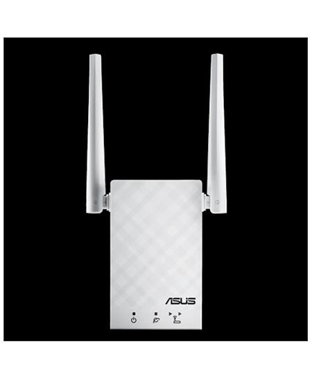 Asus Range Extender/Access Point/Media bridge RP-AC55 802.11ac, 2.4GHz/5GHz, 300+867 Mbit/s, 10/100/1000 Mbit/s, Ethernet LAN (R