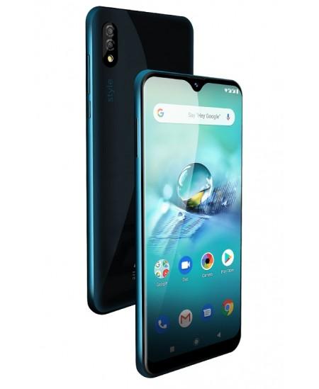 "Allview X7 Style Turquoise, 6.21 "", IPS LCD, 720 x 1520 pixels, Mediatel MT6763, Helio P23, Internal RAM 4 GB, 64 GB, micro"
