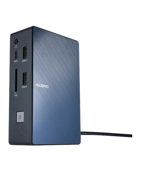 Asus SimPro Dock Ethernet LAN (RJ-45) ports 1, VGA (D-Sub) ports quantity 1, DisplayPorts quantity 1, USB 3.0 (3.1 Gen 1) ports