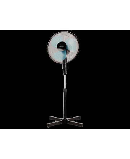 MPM MWP-17/C Stand Fan, Number of speeds 3, 50 W, Oscillation, Diameter 42 cm, Black
