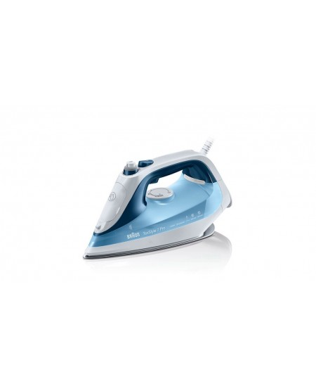 Braun SI 7062  Blue, 2600 W, Steam Iron, Continuous steam 50 g/min, Steam boost performance 225 g/min, Anti-drip function, Anti-