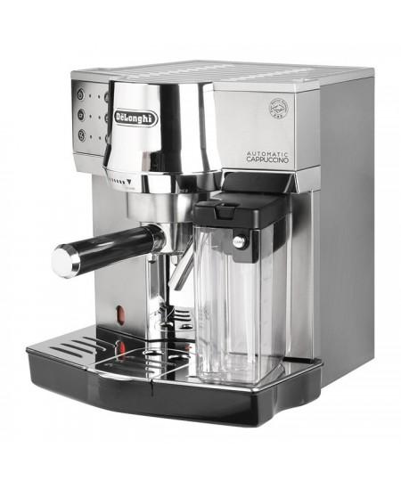 Delonghi Coffee maker EC 850.M Pump pressure 15 bar, Built-in milk frother, Semi-automatic, 1450 W, Silver