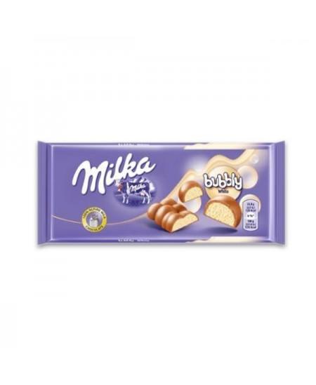 Šokoladas MILKA Bubbly White, 95 g,