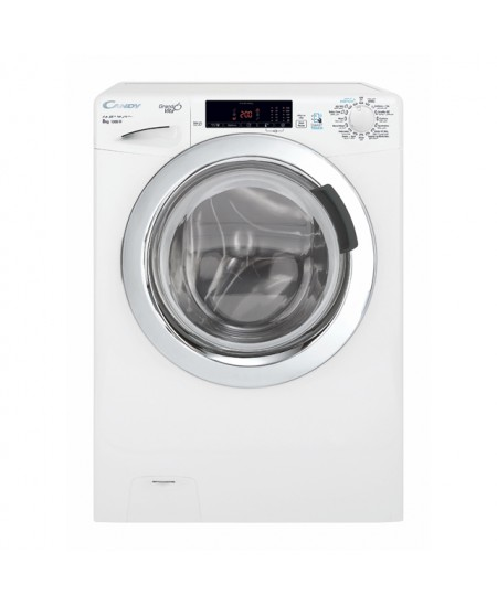 Candy Washing Machine GVS 138TC3-S Front loading, Washing capacity 8 kg, 1300 RPM, A+++, Depth 52 cm, Width 60 cm, White, NFC, S