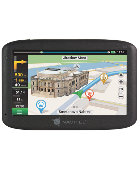 """Navitel Personal Navigation Device F300 5"""" touchscreen, Maps included, GPS (satellite)"""