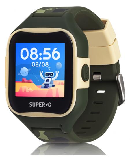 Išmanusis laikrodis GUDRUTIS Super-G Blast Camo Green