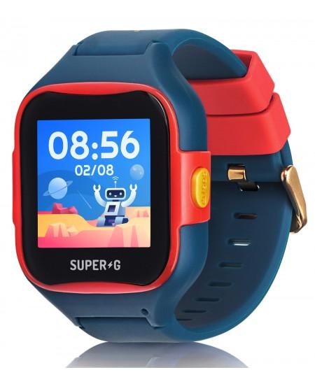 Išmanusis laikrodis GUDRUTIS Super-G Blast Hero Blue