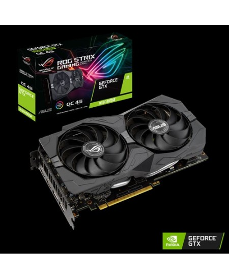 Asus NVIDIA GeForce GTX 1650 SUPER NVIDIA, 4 GB, GeForce GTX 1650 SUPER, GDDR6, PCI Express 3.0, Processor frequency 1785  MHz,