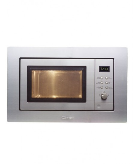 Candy Microwave oven MIC 201 EX Grill, Electronic, 800 W, Inox, Defrost function, Built-in