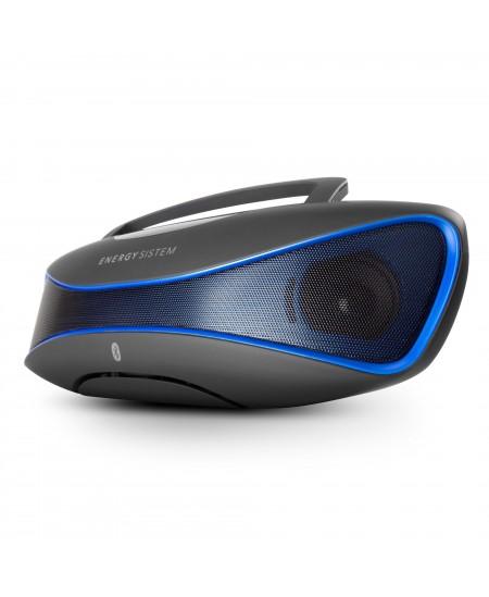Energy Sistem Bluetooth Speaker Music Box BZ6 12 W, Portable, Wireless connection, Black/Blue, Bluetooth