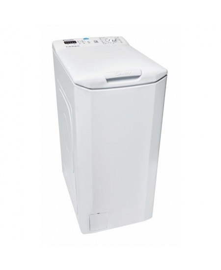 Candy Washing Machine CST 372L-S Top loading, Washing capacity 7 kg, 1200 RPM, A+++, Depth 60 cm, Width 40 cm, White,