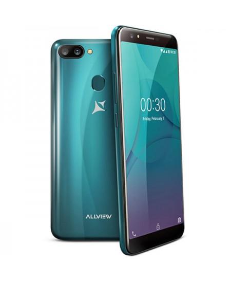 """Allview P10 Pro Dark Green, 5.99 """", IPS LCD, 720x1440 pixels, Mediatek MT6739, Internal RAM 3 GB, 32 GB, microSD, Dual SIM,"""