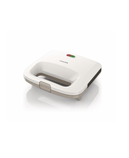 Philips HD2395 White, 820 W, Number of plates 1, Number of sandwiches 2