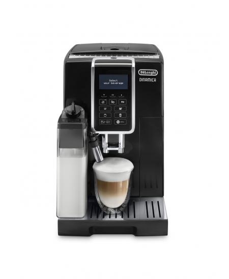 Delonghi Coffee maker ECAM 350.55.SB Dinamica Pump pressure 15 bar, Built-in milk frother, Fully automatic, 1450 W, Black