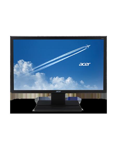 "Acer V6 V246HL 24 "", TN, 16:9, 5 ms, 250 cd/m², Black Matt, 1 x VGA, 1 x HDMI, 1 x DVI"