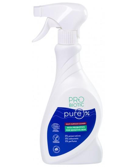 Įvairių paviršių valiklis su probiotikais PROBIOTIC PURE, 500 ml