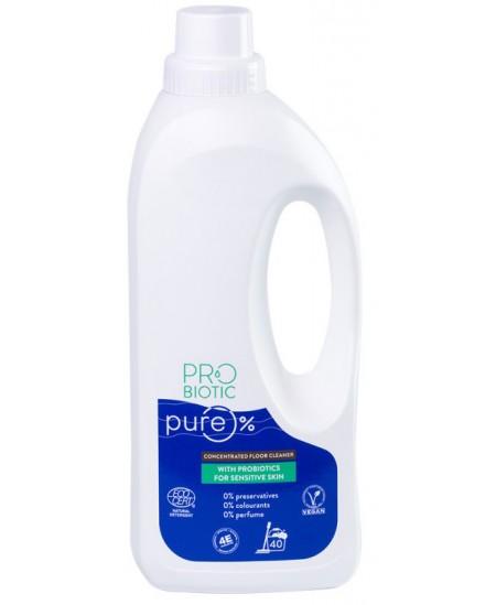 Koncentruotas grindų ploviklis su probiotikais PROBIOTIC PURE, 40 plovimų, 900 ml