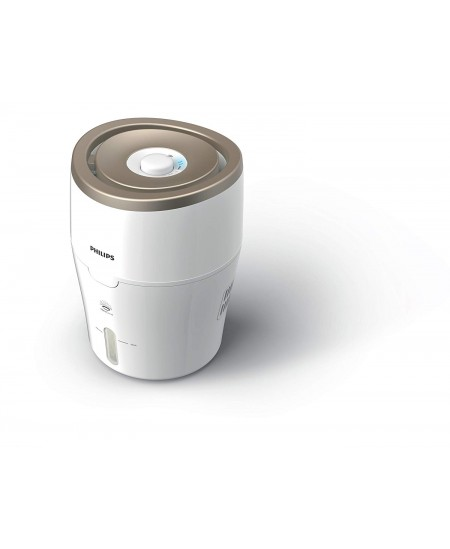 Philips HU4803/01 Humidification capacity 220 ml/hr, White/ beige, Type Humidifier, Natural evaporation process, Suitable for ro