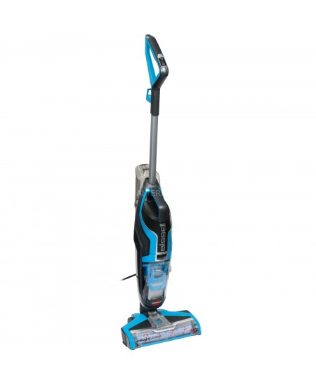 Bissell Vacuum cleaner CrossWave 17132 560 W, Handstick, 0.62 L, Wet & Dry, Black/Blue, Warranty 24 month(s)