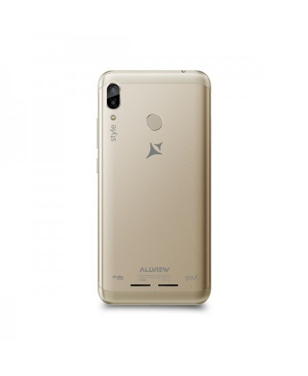 """Allview X5 Soul Style Gold, 6.2 """", HD+ 19:9 with Notch, IPS, 2.5D, INCELL, Full lamination, scratch protection, 720 x 1500,"""