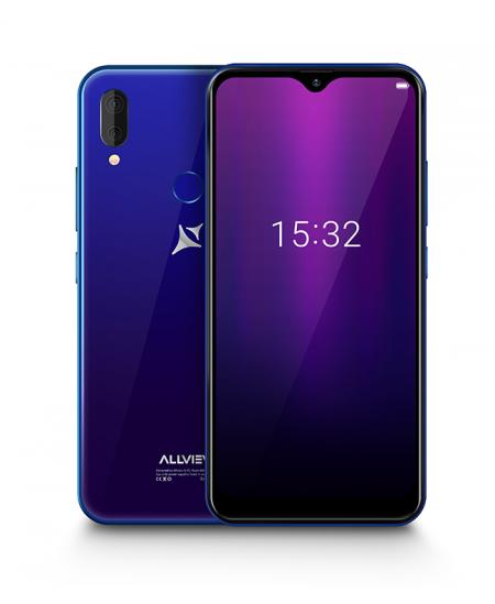 """Allview Soul X6 Mini Blue, 6.2 """", IPS LCD, 720 x 1520, Cortex-A53 quad-core, Internal RAM 2 GB, 16 GB, Micro SD, Dual SIM,"""