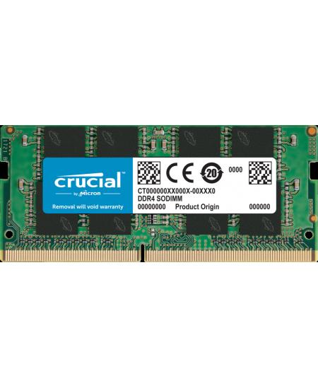Crucial 16 GB, DDR4, 2666 MHz, Notebook, Registered No, ECC No