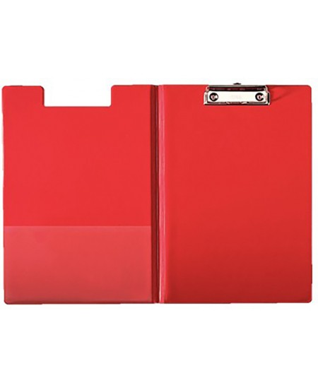 Pagrindas rašymui su atvartu ESSELTE, A4, raudonas