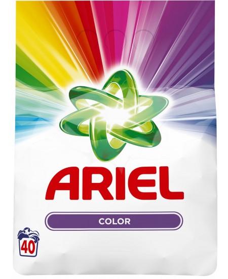 Skalbimo milteliai ARIEL Color, 40 skalbimų, 3 kg
