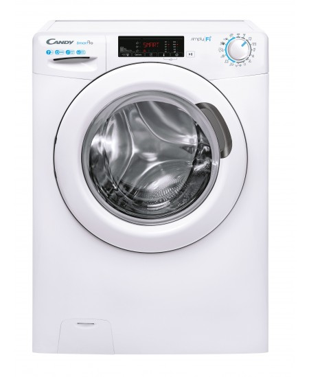 Candy CSO4 1275T31-S Washing Machine, A+++, Front loading, 7 kg, Depth 45 cm, 1200 RPM, White