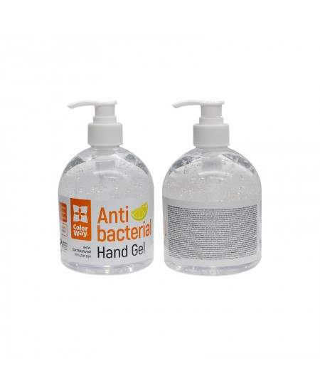 ColorWay Alcohol gel for hand disinfection CW-3950 500 ml