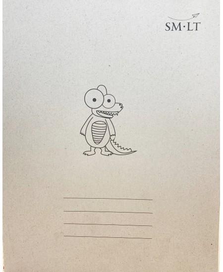 Sąsiuvinis SM-LT, A5, 32 lapai, langeliais, siūtas