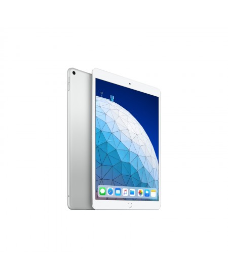 "Apple iPad Air 10.5 "", Silver, Retina display, 2224 x 1668 pixels, A12 Bionic chip with 64‑bit architecture; Neural Engin"