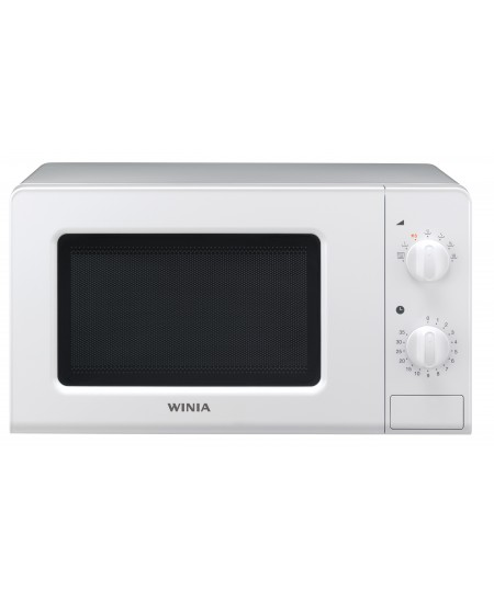 Winia Microwave oven KOR-6607WW Free standing, 700 W, White