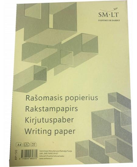 Rašomasis popierius SM-LT, A4, baltas, 50 lapų
