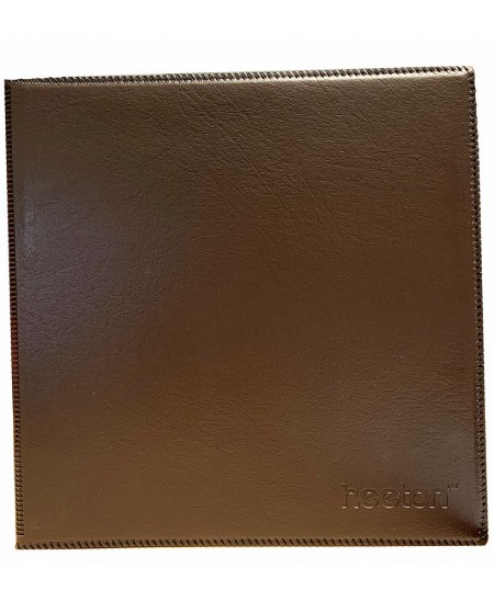 Vizitinių kortelių albumas HEETON, su žied., 480 kortelių, dirbtinė oda, juodas