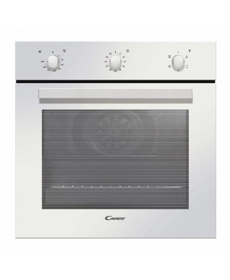 Candy Oven FCP502W/E 65 L, Electric, Manual, Rotary knobs, Height 59.5 cm, Width 59.5 cm, White