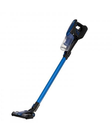 Adler Vacuum Cleaner AD 7043 250 W, Handstick 2in1, 28 min, 0.7 L, Blue, Lithium Ion
