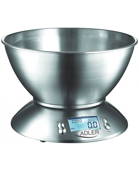 Adler AD 3134 Maximum weight (capacity) 5 kg, Stainless steel