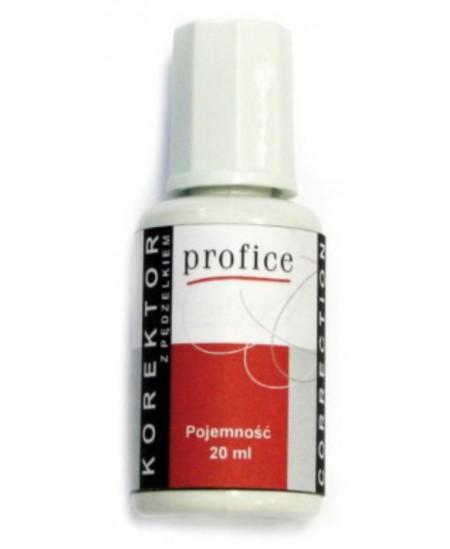 Korekcinis skystis PROFICE su teptuku, 20 ml