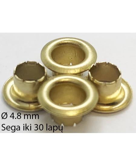 Kniedės 4,8 mm x 4,6 mm, sega iki 30 lapų, 250 vnt.